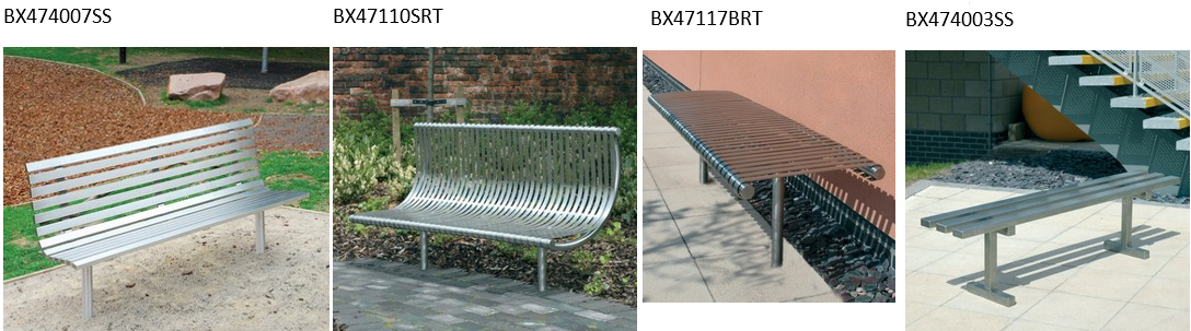 Steel Benches: UA Diverse Range Of Steel Benches Varies From Economy Seats  To Heavy Duty Anti Vandal Benches Which Are Constructed From Components  That Are ...